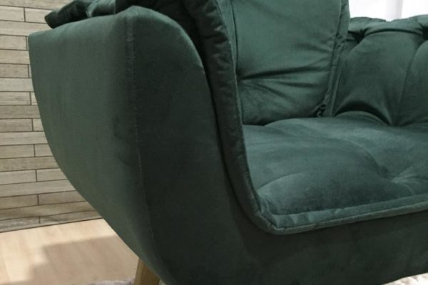 Poltrona Verde - Modelo Rebeca