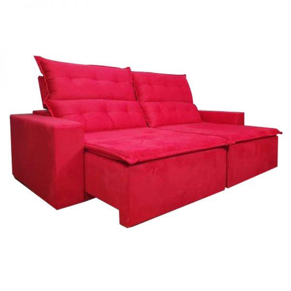 Sofá-Retrátil--california-2.20m-vermelho-aberto