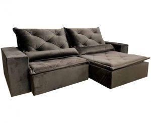 Sofá-Retrátil-reclinavel-esplendor-2.10m-marrom-aberto-lateral