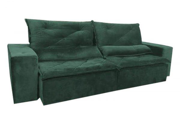 Sofá-Retrátil-reclinavel-esplendor-2.10m-verde-fechado