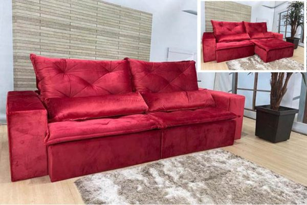 Sofá-Retrátil-reclinavel-esplendor-2.10m-vermelho-ambiente