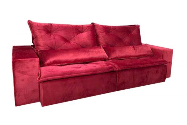 Sofá-Retrátil-reclinavel-esplendor-2.10m-vermelho-fechado