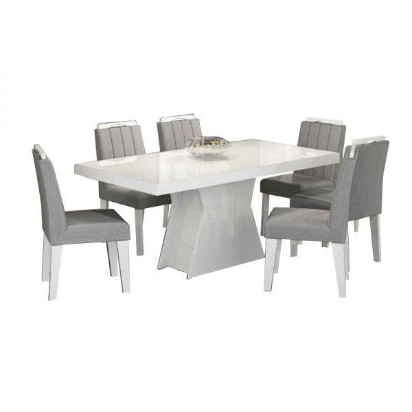 mesa-olívia-6-cadeiras-eliza-branco-platina
