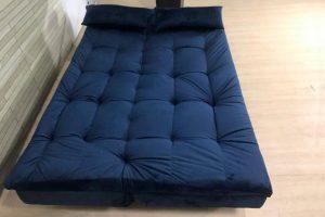sofa cama sstilo Azul