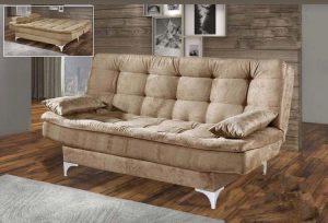 sofa cama stilo bege