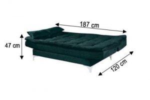 sofa cama stilo medida