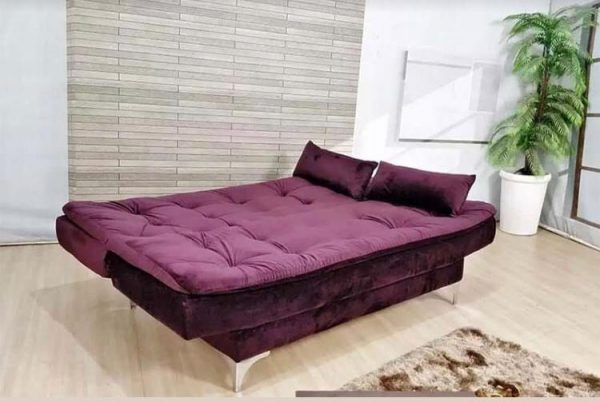 sofa cama stilo vinho