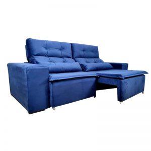ssofa-retratil-reclinável-zeus-azul-aberto-lateral