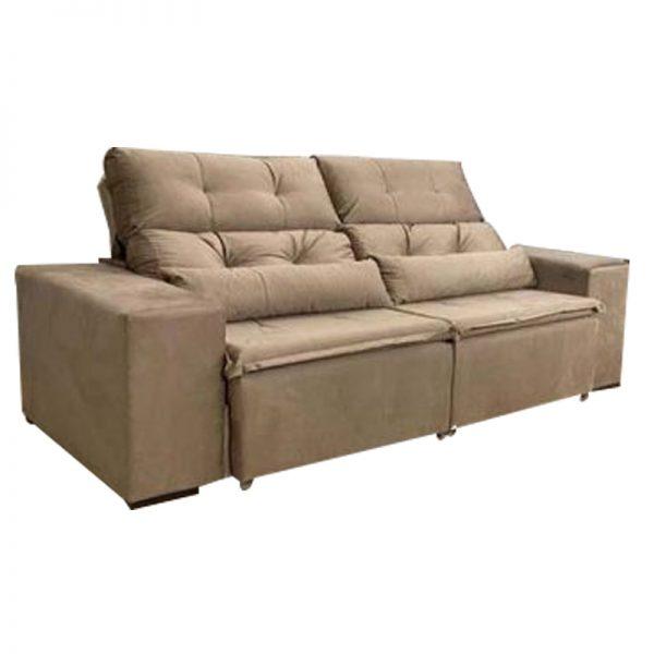 sofa-retratil-reclinável-zeus-bege-fechado