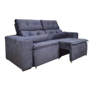 sofa-retratil-reclinável-zeus-cinza-aberto-lateral