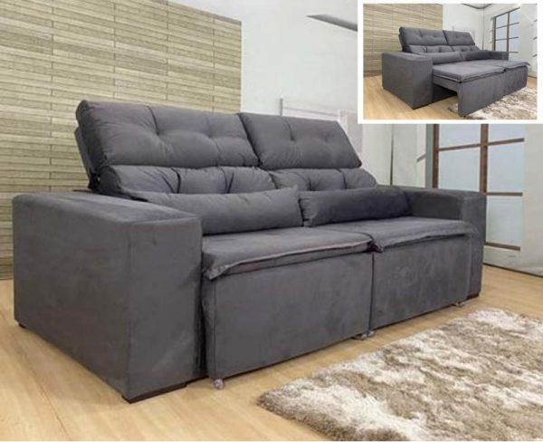 sofa-retratil-reclinável-zeus-cinza-ambiente