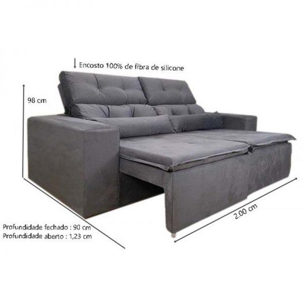 sofa-retratil-reclinável-zeus-cinza-medidas