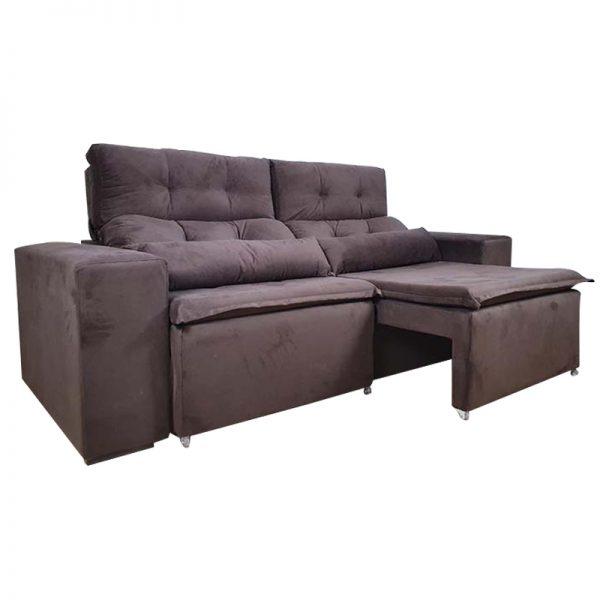 sofa-retratil-reclinável-zeus-marrom-aberto-lateral