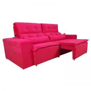 sofa-retratil-reclinável-zeus-vermelho-aberto-lateral