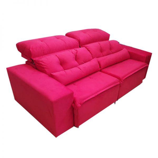 sofa-retratil-reclinável-zeus-vermelho-detalhe