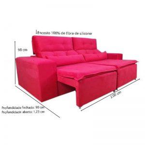 sofa-retratil-reclinável-zeus-vermelho-medidas